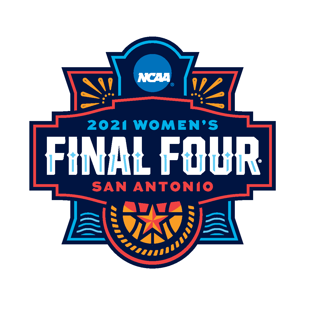 NCAA bracket for the 2021 Division I women's basketball tournament