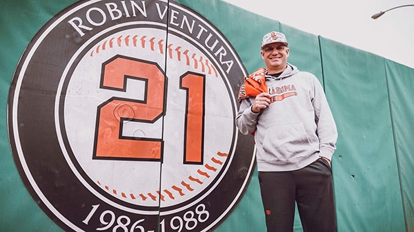 Robin Ventura reflects on his 58-game hit-streak at Oklahoma State, and why he is back where it all started now