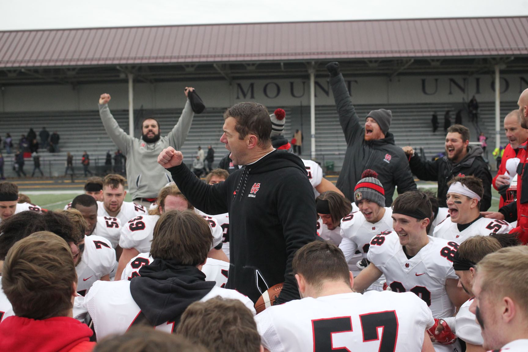 North Central Ill Makes History Knocking Off Mount Union In Second Round Shootout Ncaa Com
