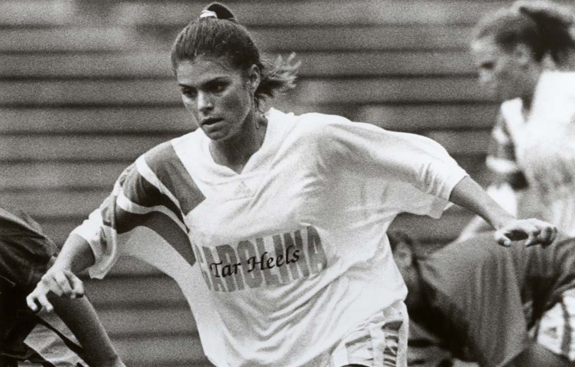 Mia Hamm S College Career North Carolina Highlights And Notable Moments Ncaa Com