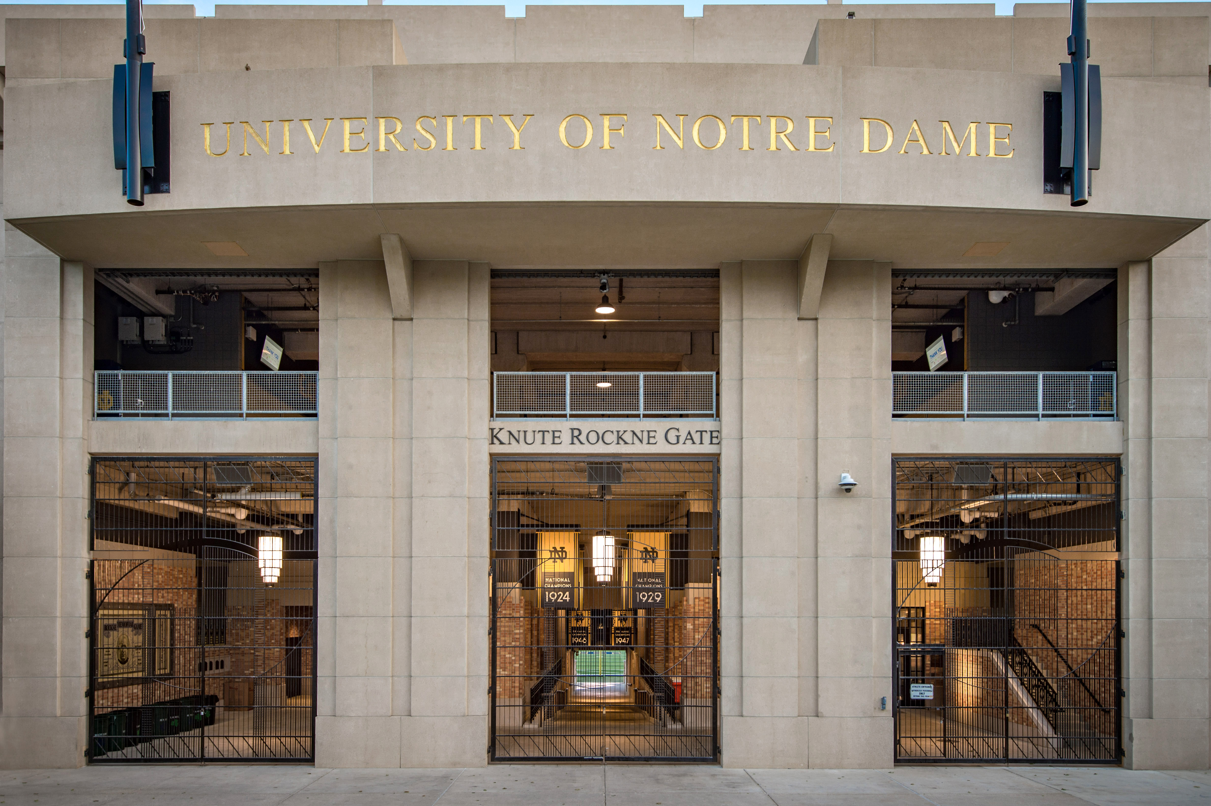 Notre Dame S New Football Stadium Is A Modern Ode To Knute Rockne S Vision Ncaa Com