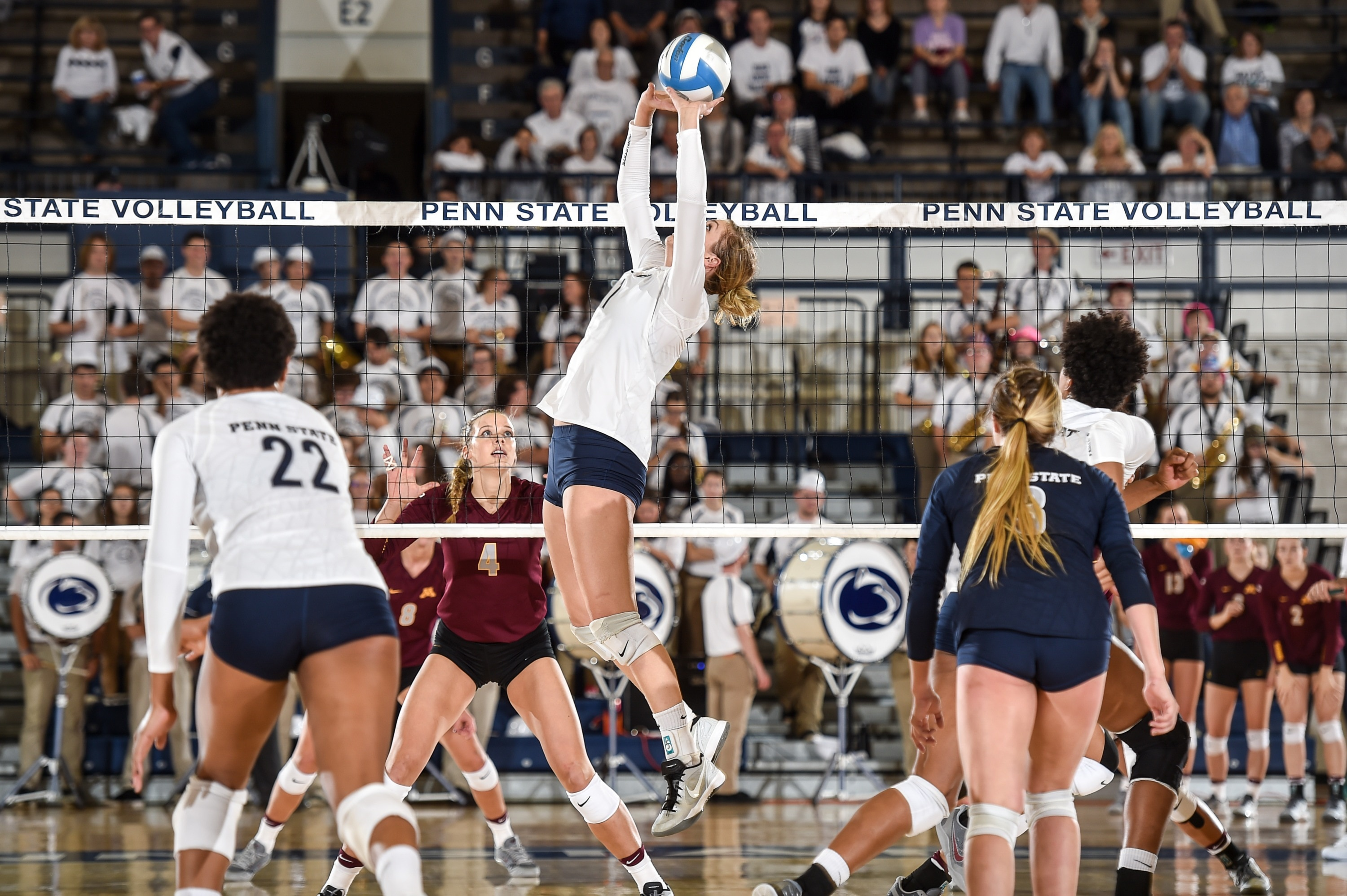 Nittany Lions Undefeated So Far Using Their Two Setter Approach Ncaa Com