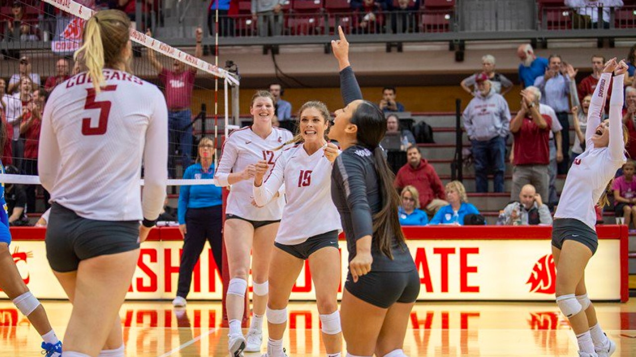 College Volleyball Rankings Washington State Ucf On The Rise Nebraska Falls Four Spots Ncaa Com
