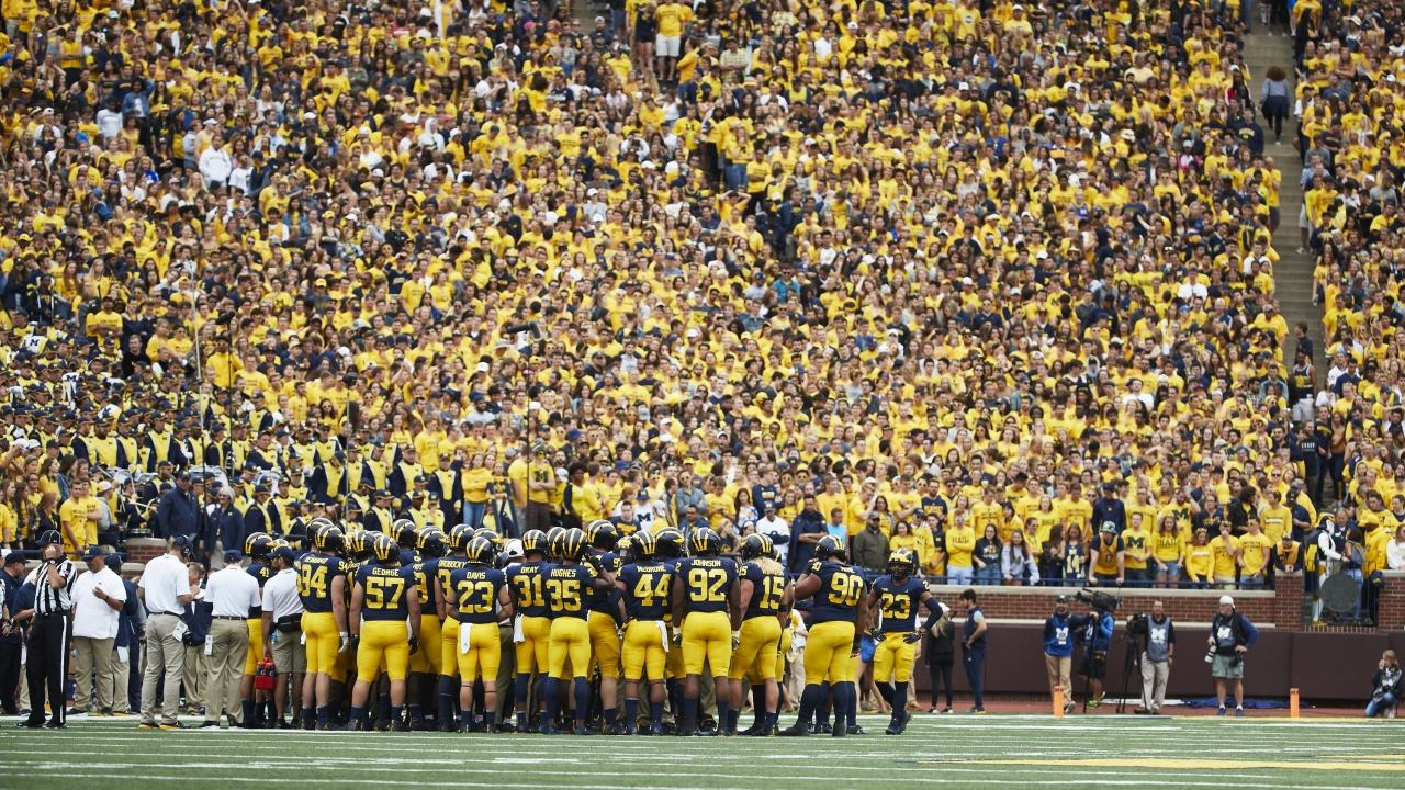 The 25 biggest college football stadiums in the country