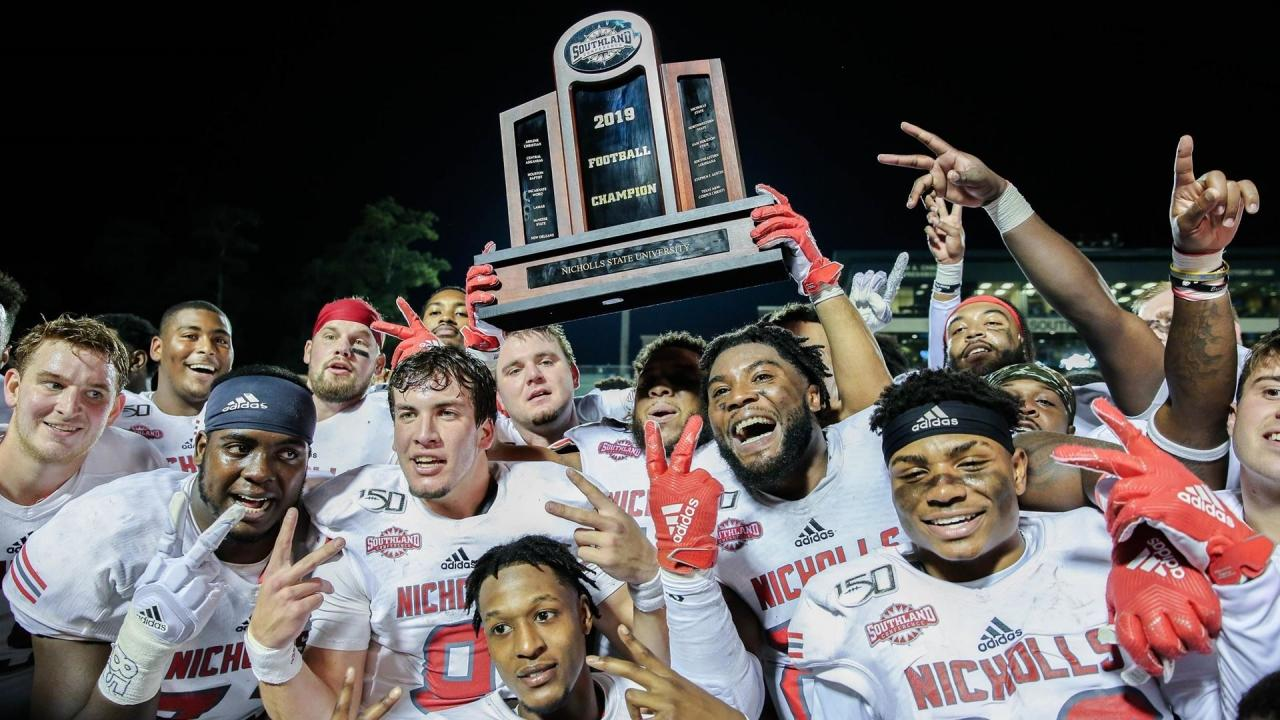 Every automatic qualifier for the 2019 FCS football ...