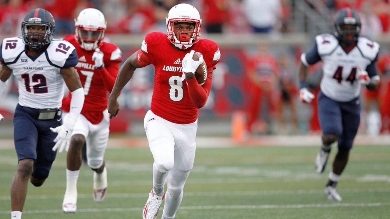 Lamar Jackson College Football Career Stats Highlights Records Ncaa Com