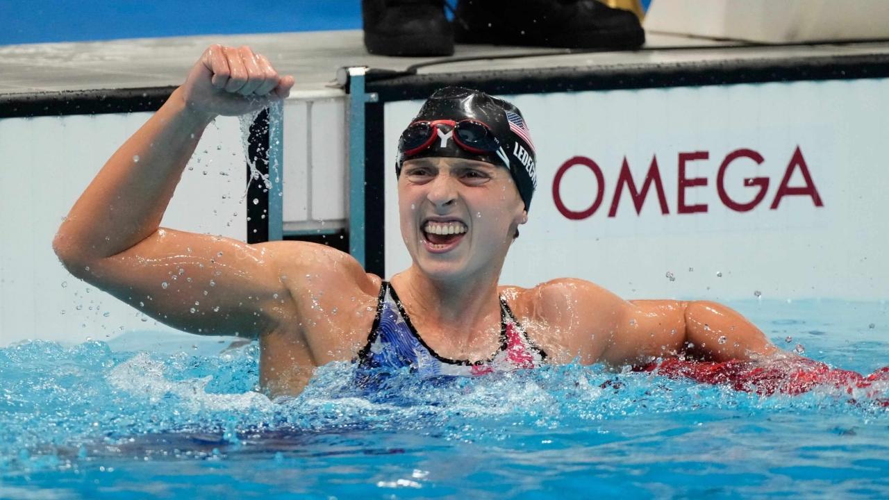 Atlet Olimpiade 3 jam Katie Ledecky bergabung dengan Florida sebagai pelatih renang sukarela
