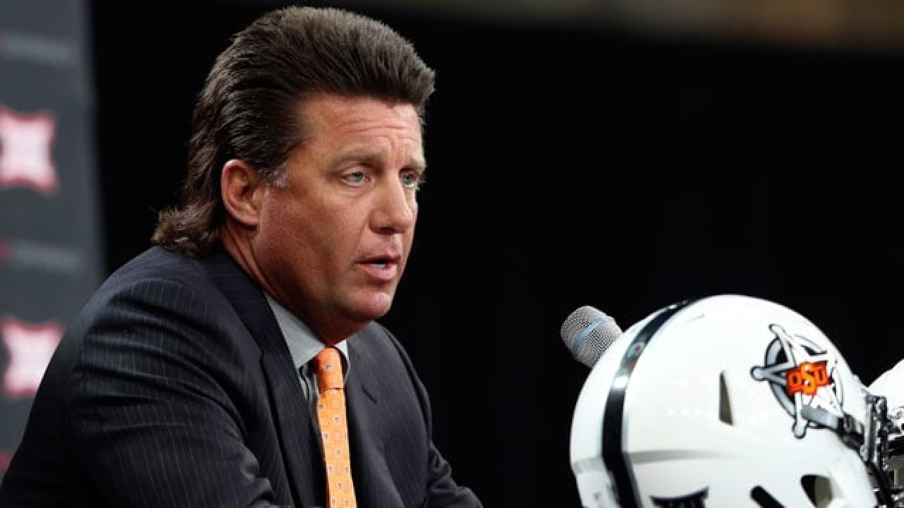 Mike Gundy S Mullet Impact On College Sports Ncaa Com