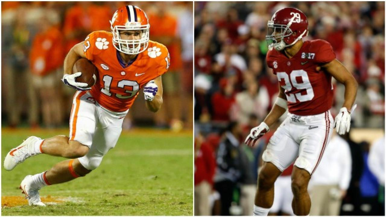 Alabama looks to stop Clemson's 'giant-killer,' Hunter ...
