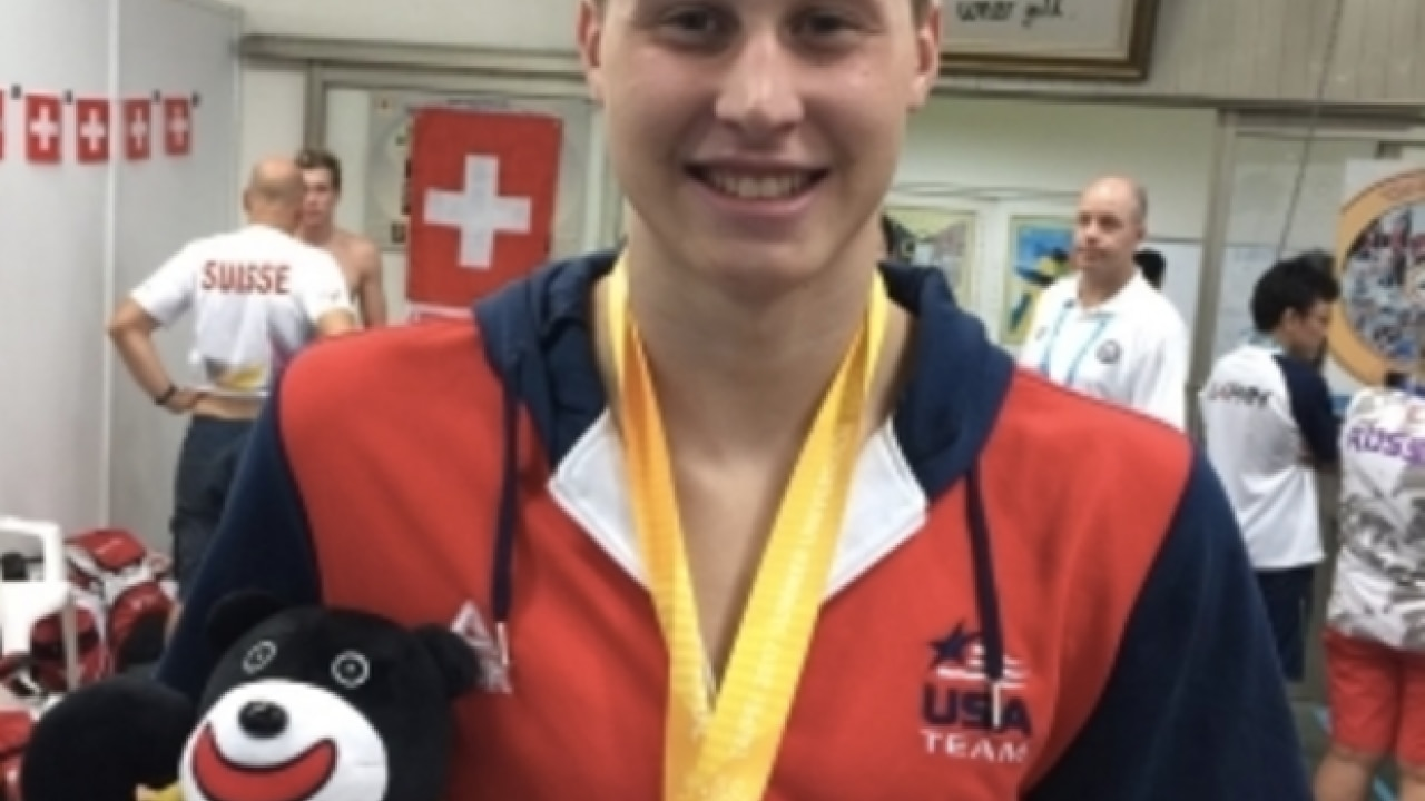 NC State's Justin Ress captures second WUG gold medal