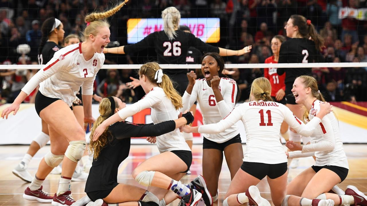 2018 Ncaa Volleyball Championship Stanford Beats Nebraska To Earn Eighth National Title Ncaa Com