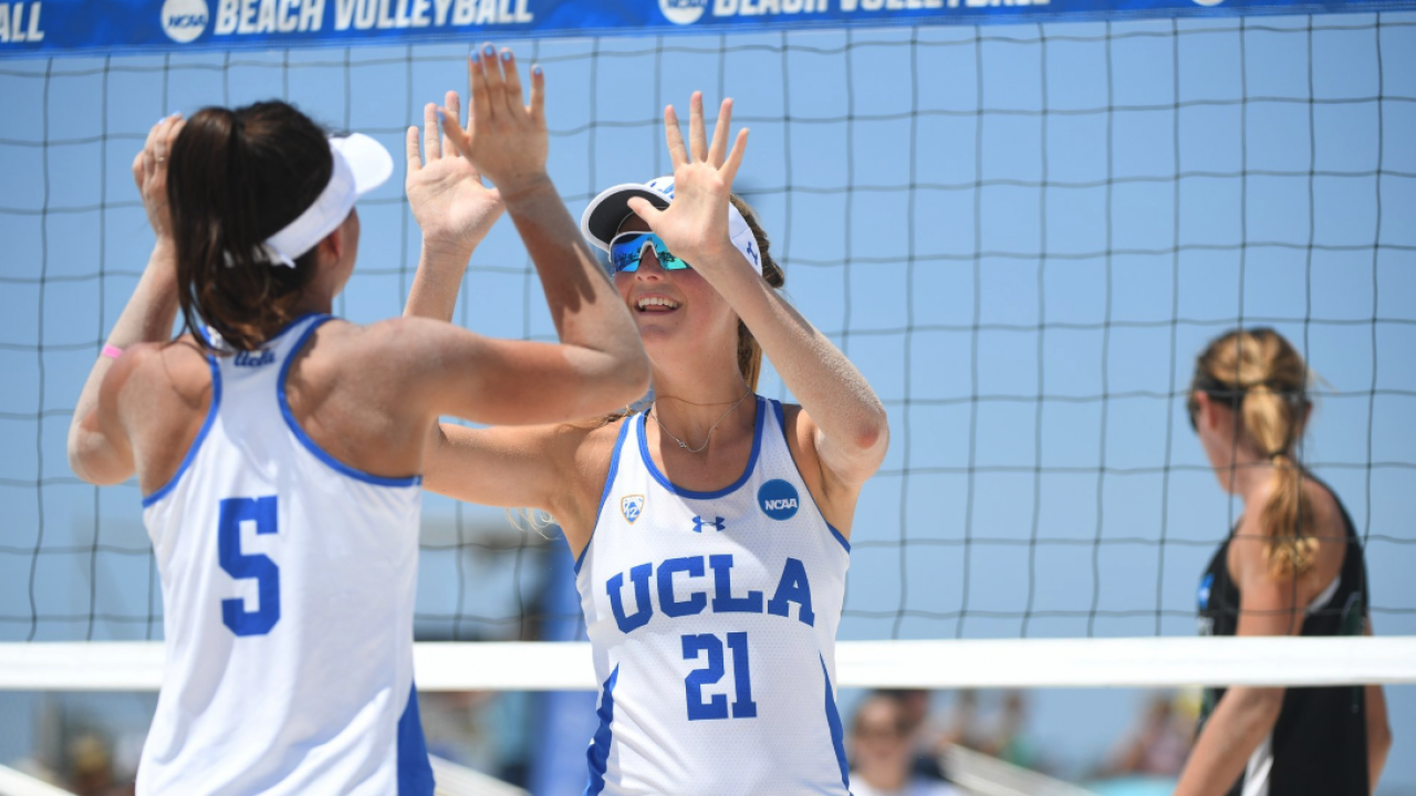 Check Out Highlights From Day One Of The Beach Volleyball Championship Ncaa Com