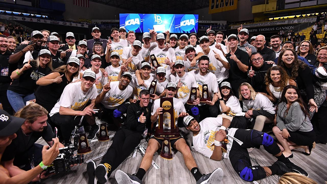 Long Beach State Wins Second Consecutive Ncaa Men S Volleyball Championship Ncaa Com