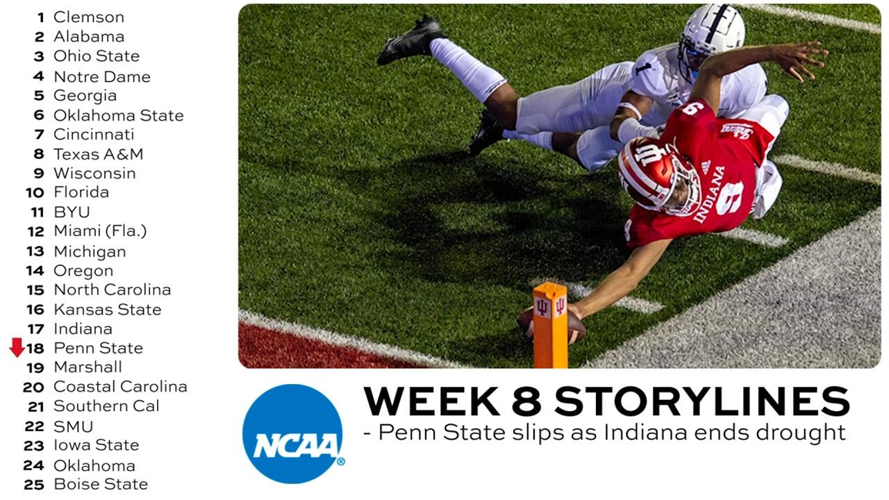 14 Observations From The Big Ten S Return To College Football Ncaa Com