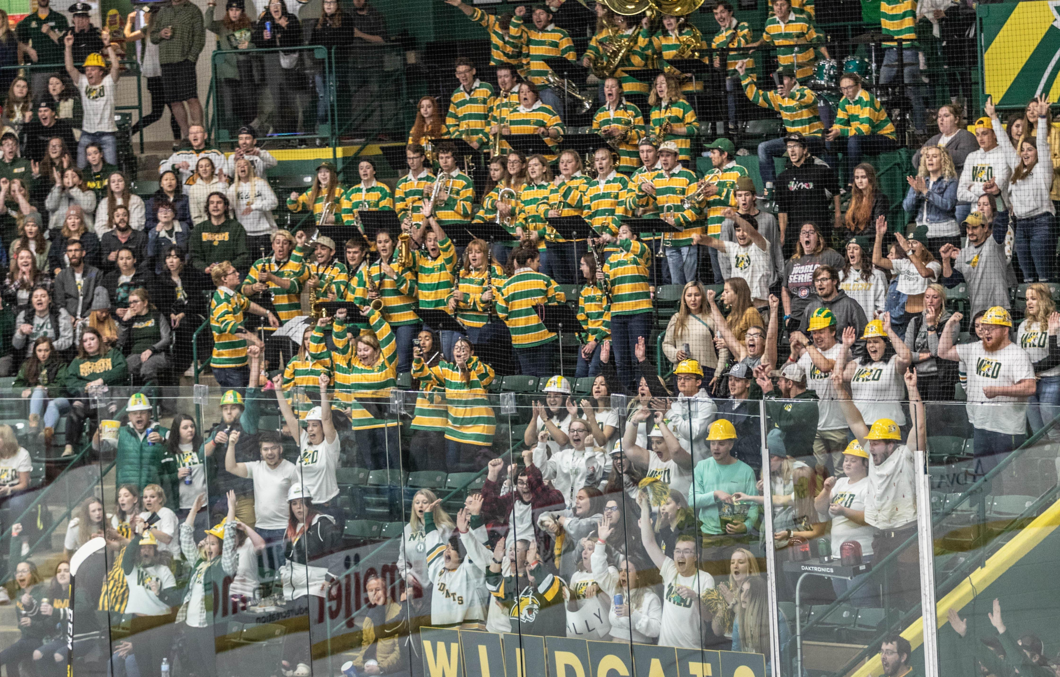 These Are 9 Of The Top Student Sections In College Hockey Ncaa Com