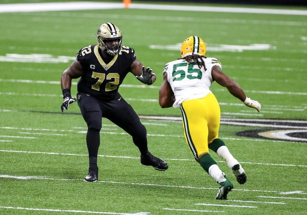 Terron Armstead of the New Orleans Saints.