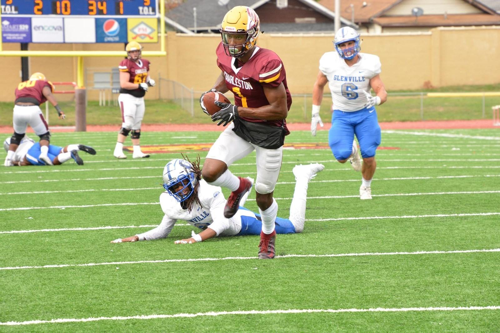 Charleston (WV) wide receiver Mike Strachan