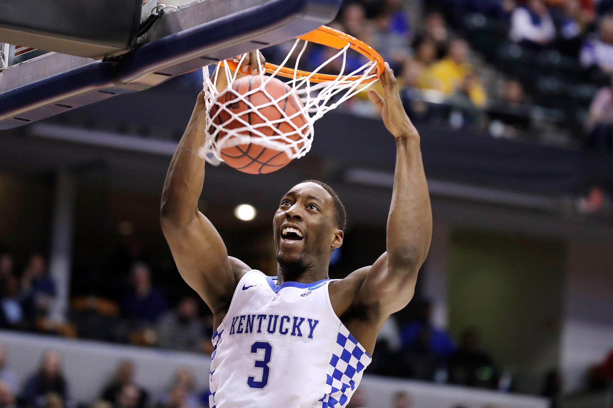 Bam Adebayo from Kentucky