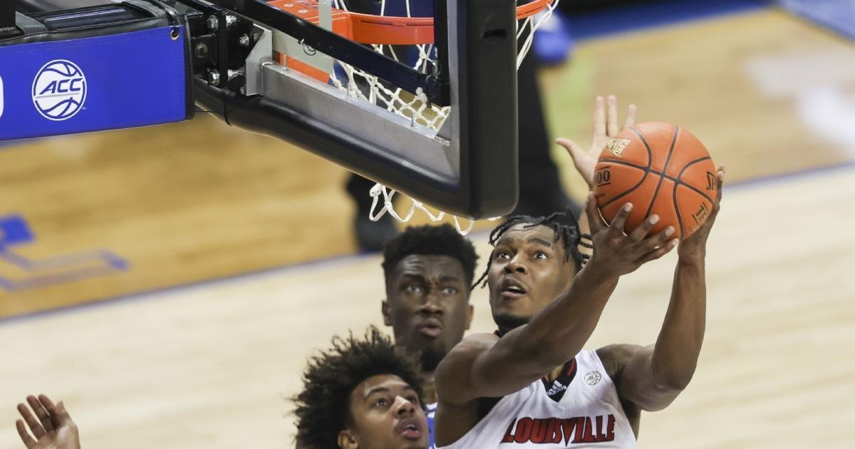 Jae'Lyn Withers is Louisville's leading returning scorer.