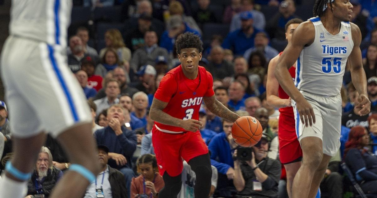 SMU's Kendric Davis was a first team all-conference selection last season.