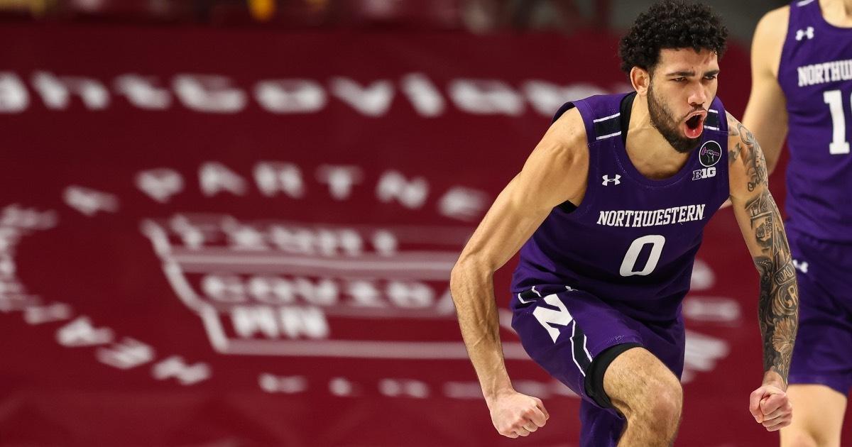 Northwestern's Boo Buie.