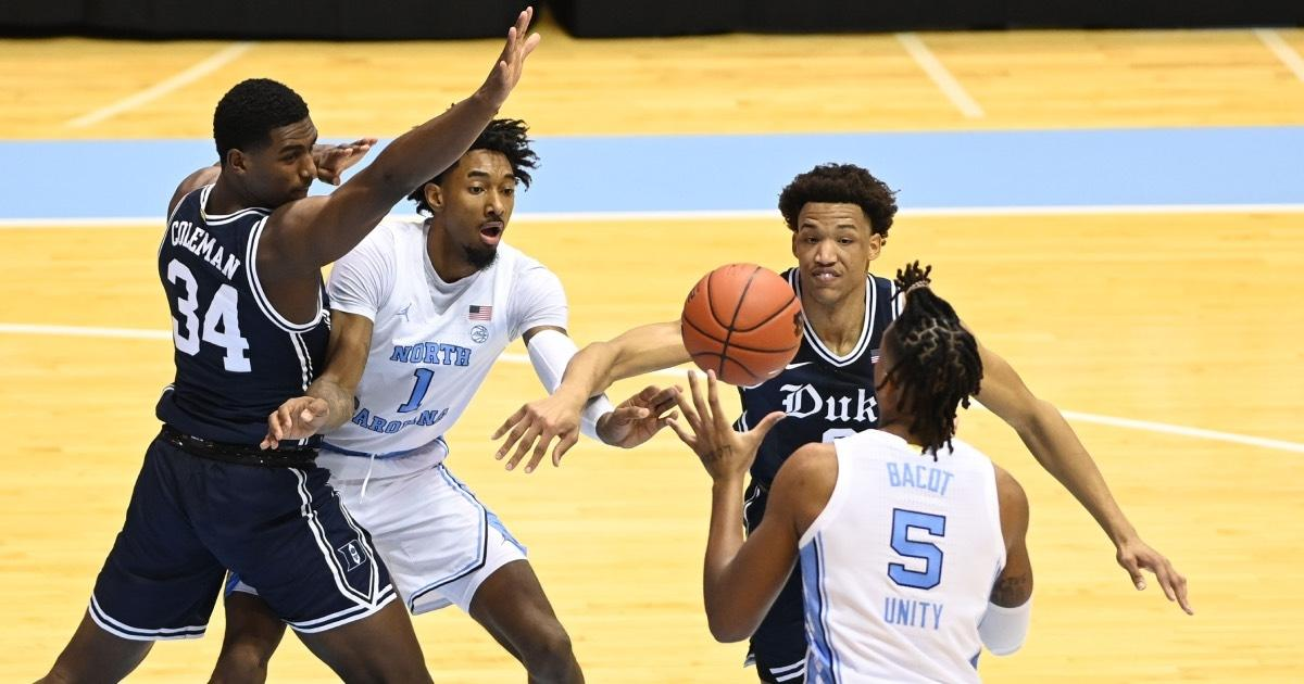 North Carolina's Armando Bacot was a third-team All-ACC selection in 2021.