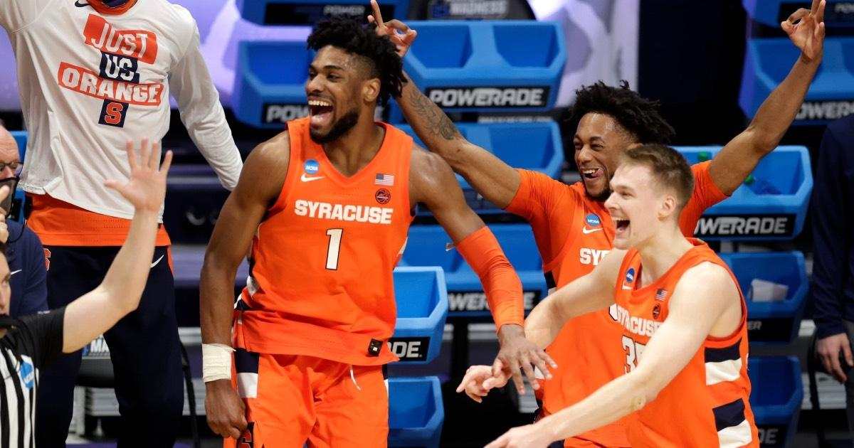 Syracuse advanced to the Sweet 16 in the 2021 NCAA Tournament.