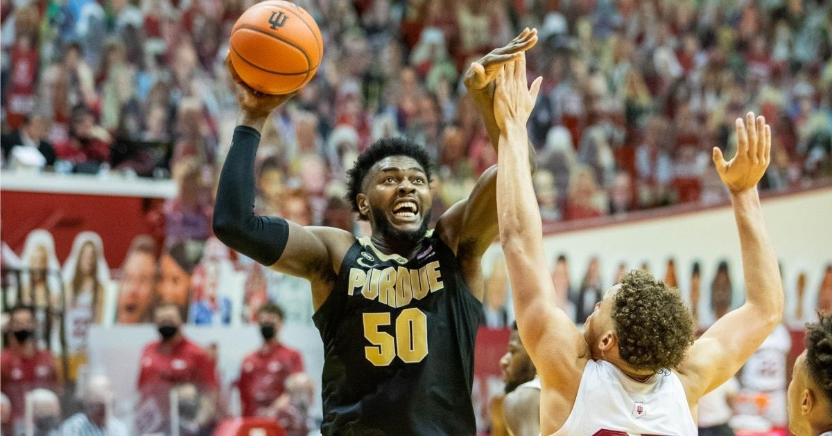 Trevion Williams led Purdue in scoring and rebounding in 2021.