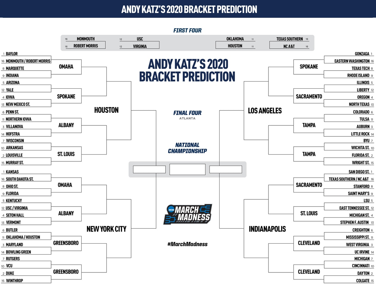 2020 Bracketology The Ncaa Tournament Field Predicted A Day After The Super Bowl Ncaa Com