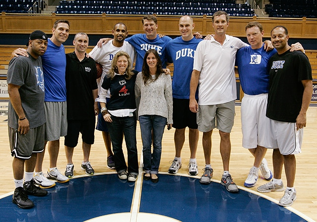 Buckley erik meek christian laettner marty clark and mark williams