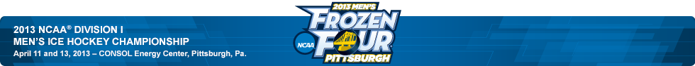 2013 Division I Frozen Four Bracket