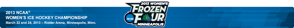2013 Women's Ice Hockey Tournament