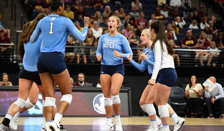 10736c053326 Women s college volleyball games affected by Hurricane Florence ...