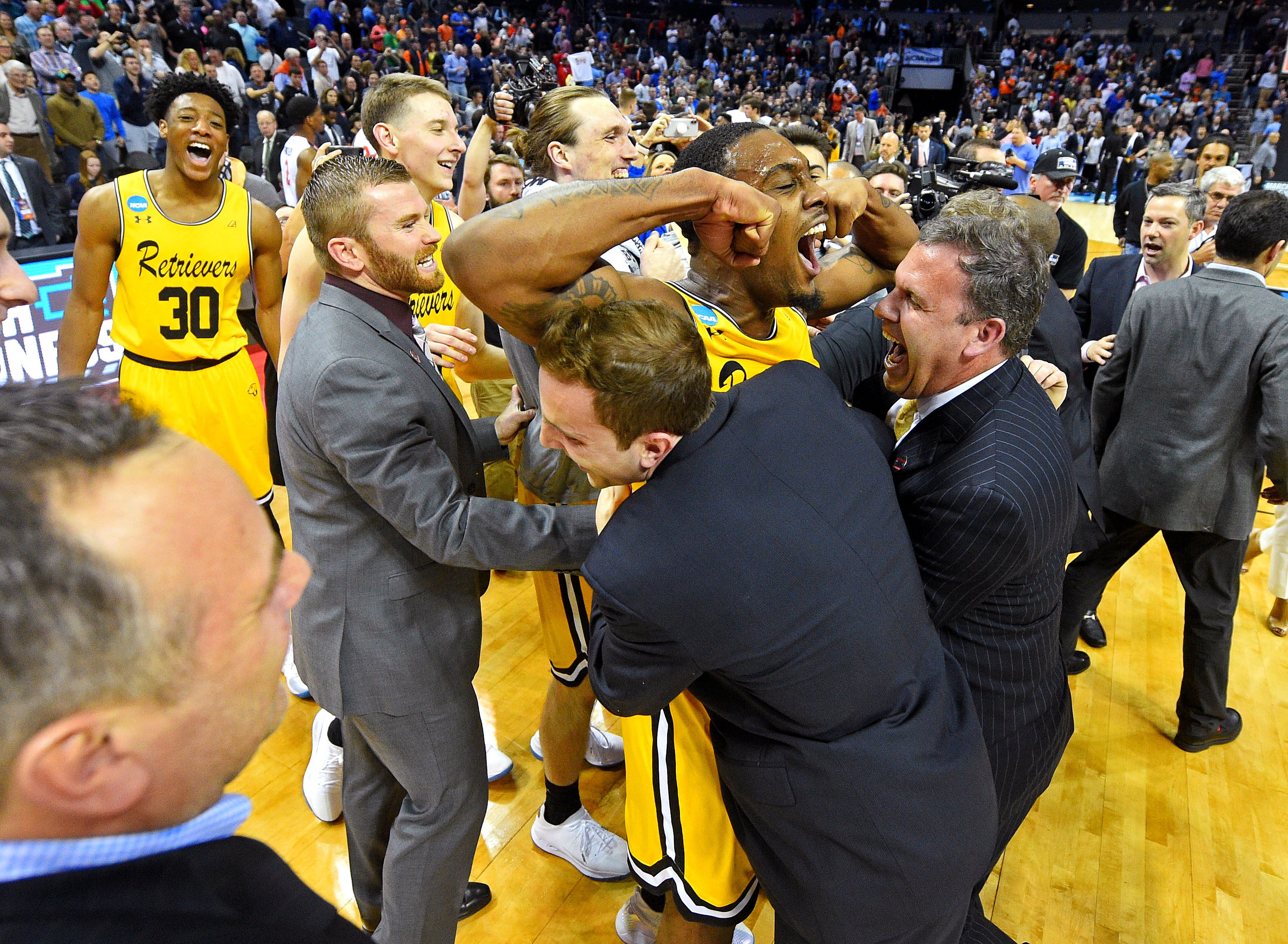 5cee7213 What life has been like at UMBC since that incredible upset of No. 1  Virginia   NCAA.com