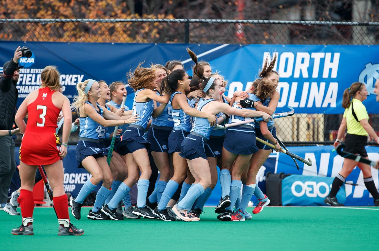 North Carolina Beats Maryland For 2018 Di Field Hockey National