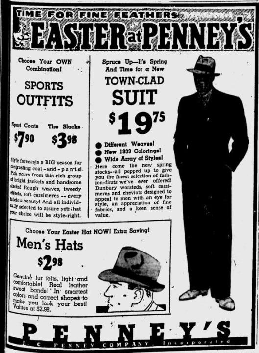 Suit Ad 1939