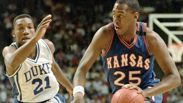 Danny Manning led the Kansas Jayhawks to a national championship.