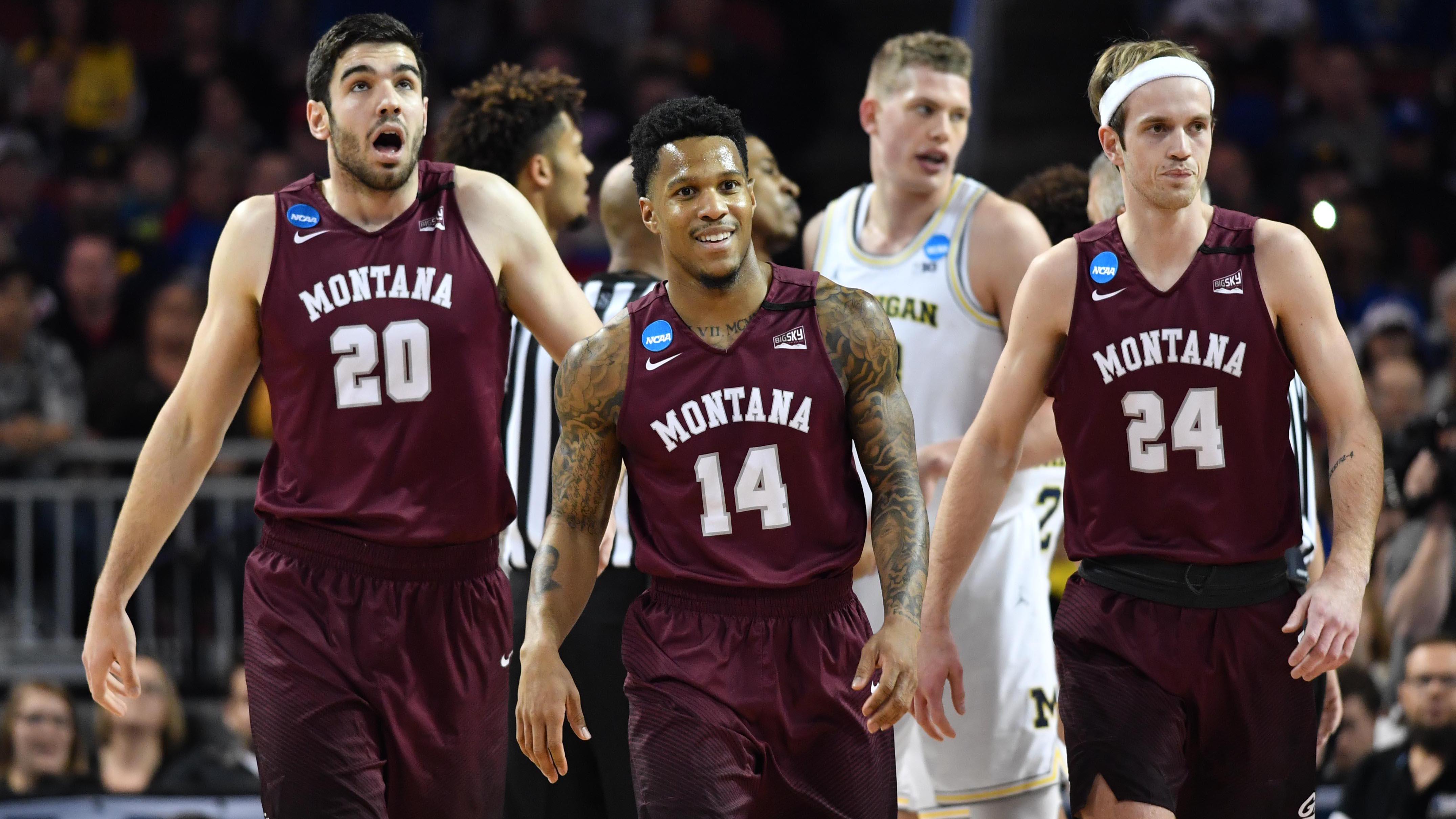 Montana basketball plays Michigan