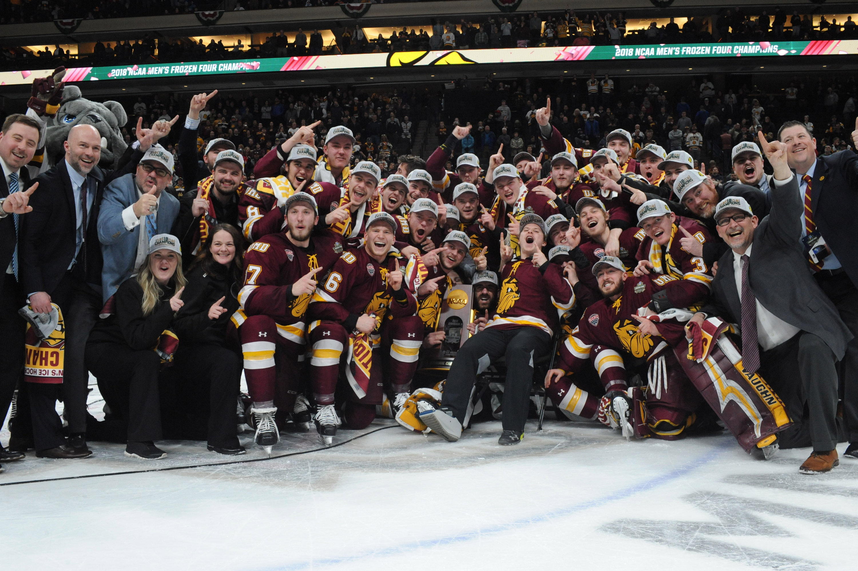 Minnesota Duluth wins the 2018 NCAA title.