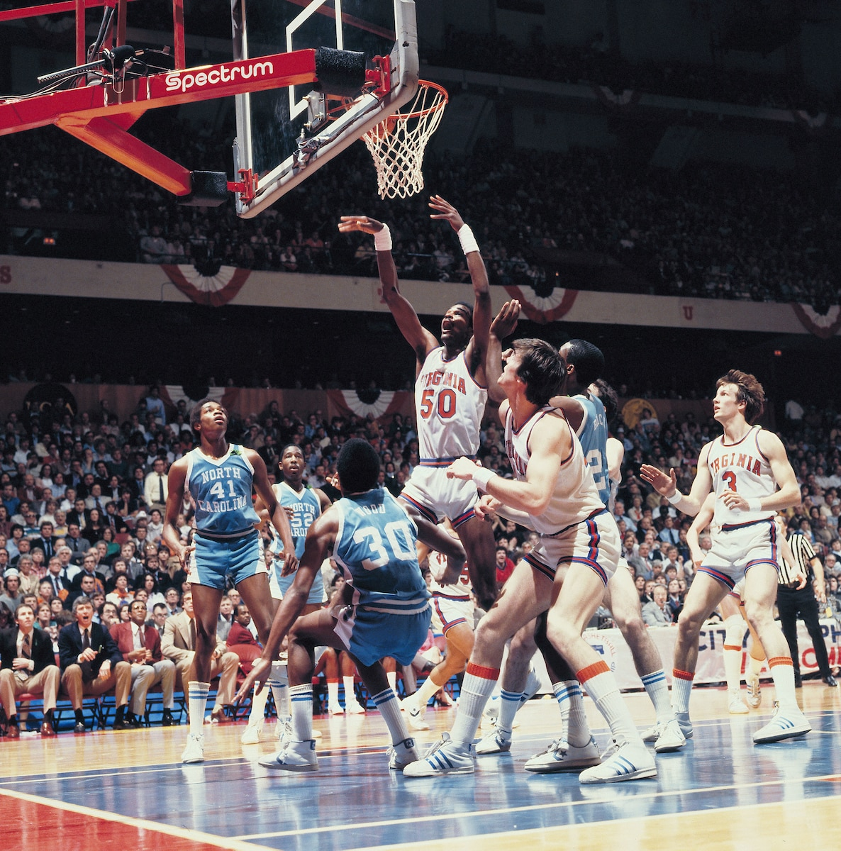 Ralph Sampson in the 1981 Final Four.