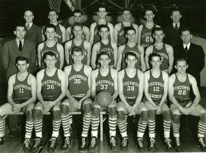 Wisconsin's 1941 basketball team