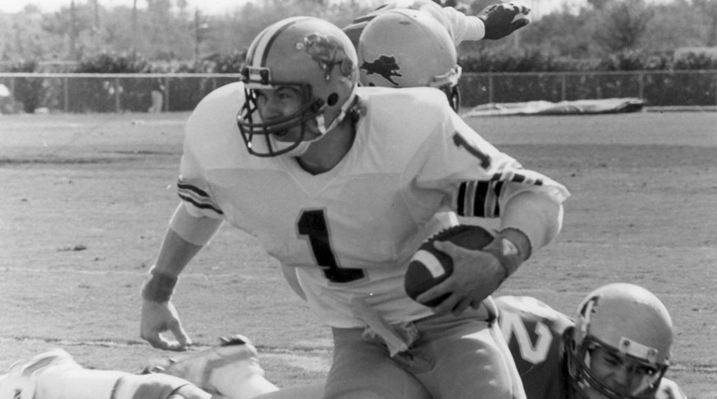 North Dakota state plays the 1985 DII football championship.