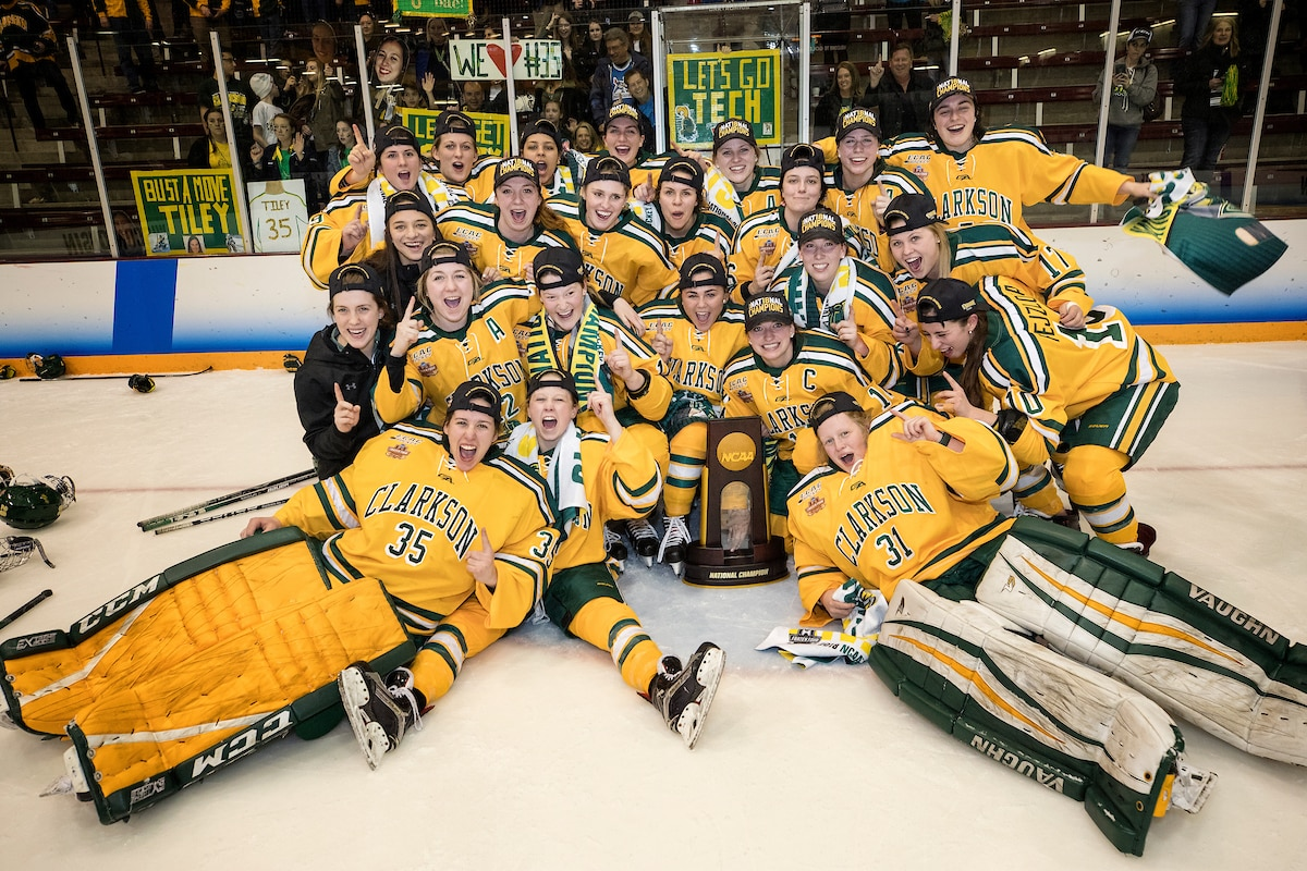 Clarkson has three national championships.