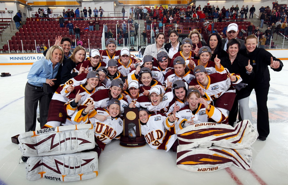 Minnesota-Duluth has five national championships.