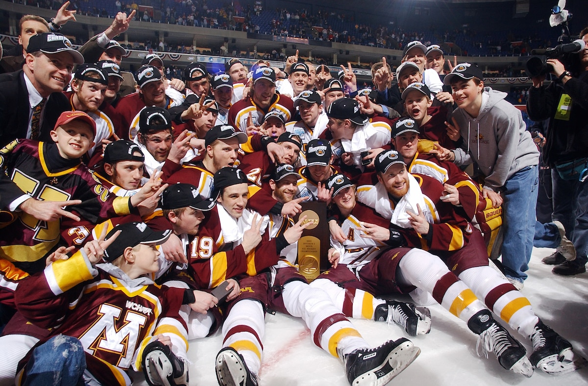The Gophers' last national championship was 2003.