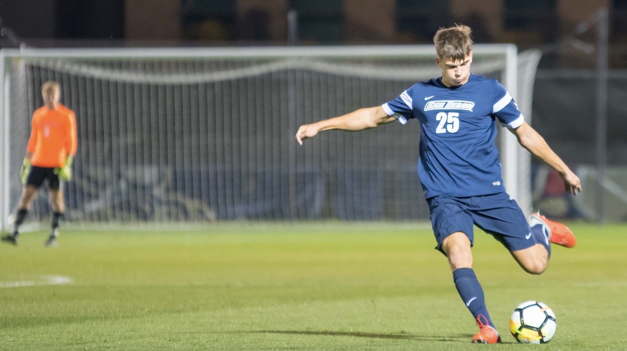 Men's Soccer: San Diego earns draw with No. 7 Portland