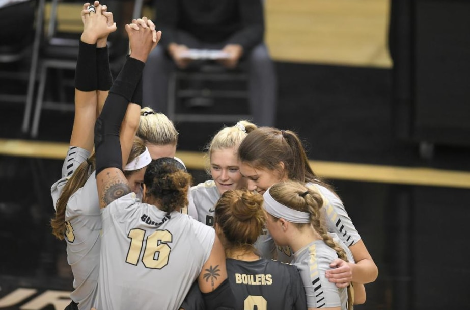College volleyball upsets