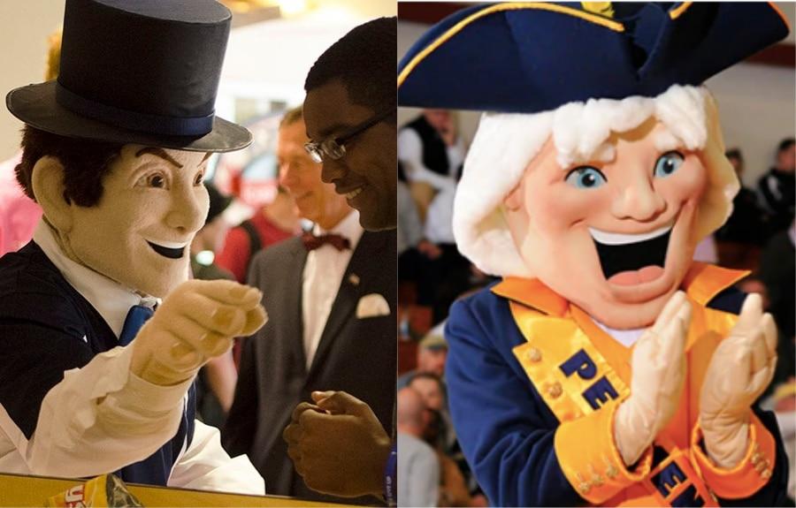 DII mascots