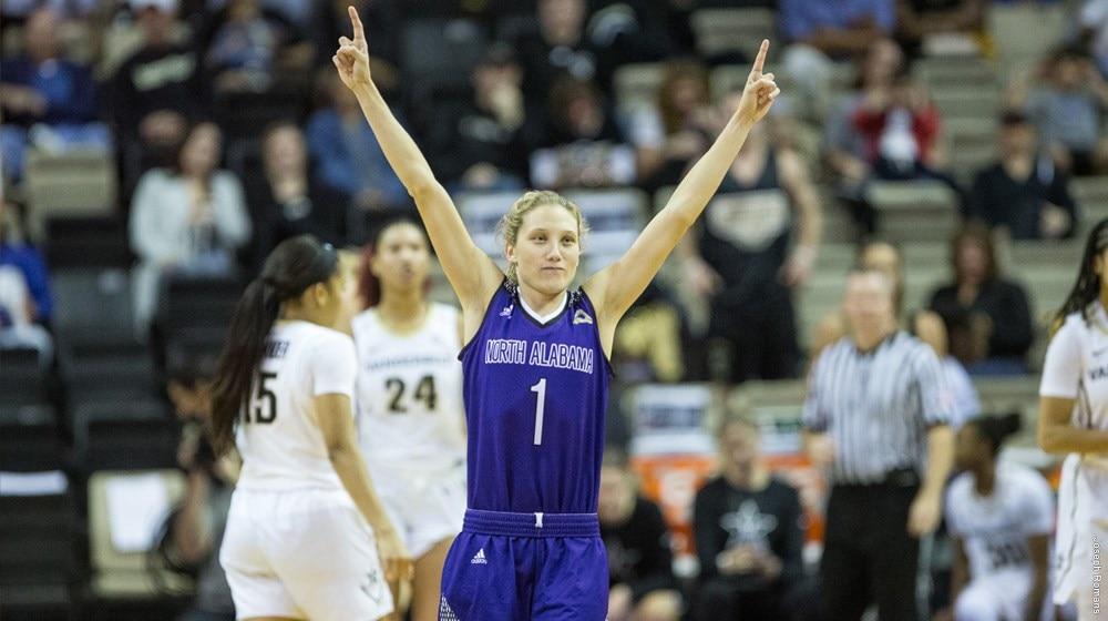 North Alabama women's basketball