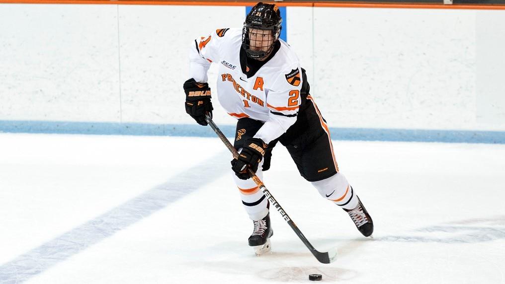 Ryan Kuffner earns college hockey three stars honors.